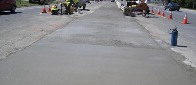 Route 40 Left Turn Lane Overlay